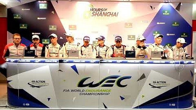 WEC - 2017 6 hours of Shanghai - Post-race press conference