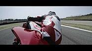 Aksi Ducati Panigale V4 taklukkan sirkuit Mugello