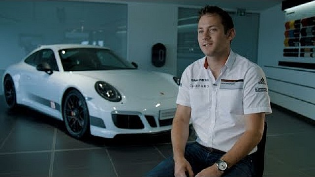 Nick Tandy meets his British Legends Edition 911 Carrera 4 GTS.