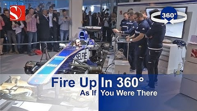 Fire Up In 360° - Sauber F1 Team @ Auto Zürich