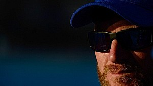 Emotions hitting Dale Earnhardt Jr. and Amy