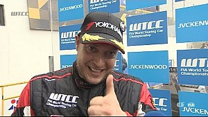 Interview Rob Huff wins the Main race in Macau