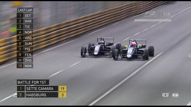 Última volta do GP de Macau 2017