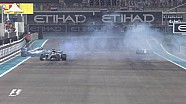 GP d'Abu Dhabi - Ça chauffe sur la piste