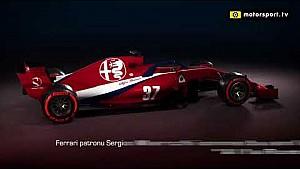 Alfa Romeo Sauber aracı konsept tasarımı