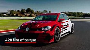 New design for the Volkswagen Golf GTI TCR