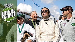 Goodwood carpool - Dario Franchitti