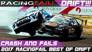 Best of drift crash and fails 2017 compilation | Racingfail