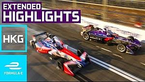 2017 HKT Hong Kong E-Prix (round 1) extended highlights - Formula E