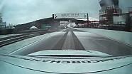 O circuito de Spa-Francorchamps sob a neve