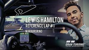 Lewis Hamilton referentieronde #1 - Nürburgring