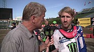 Justin Barcia's new deal - Race day live 2018 - First round in Anaheim