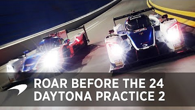 2018 Daytona 24 Practice: Day 2