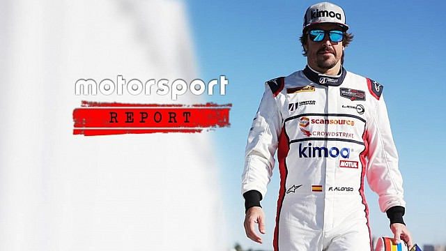 Fernando Alonso exclusive on his Rolex 24 adventure