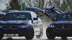 BMW M5 Drift-Weltrekord