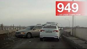 Car crash compilation 949 - January 2018