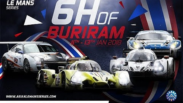 6 hours of Buriram - Live - Round 3 - 2017/18 Asian Le Mans Series