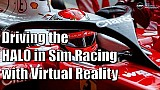Simracer test de F1-halo in Assetto Corsa