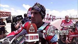Dakar 2018, Honda etapa 11