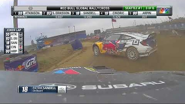 Red Bull GRC Seattle II: Supercar semifinal B