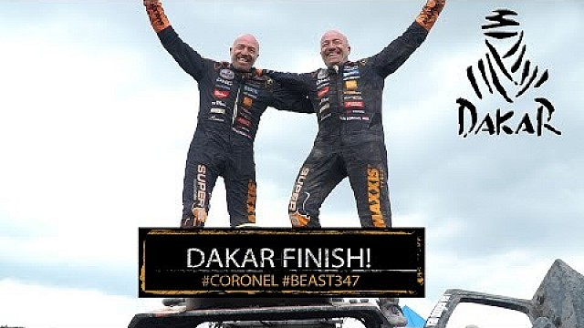 Dakar 2018: The beast with twins finishes! Tim and Tom Coronel reach the end of a long Dakar rally