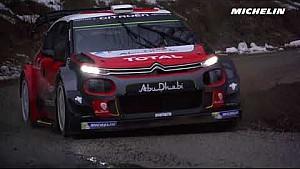Kris Meeke en essais pour le Rallye Monte-Carlo