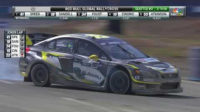 Red Bull GRC Seattle II: Supercar heat 1B