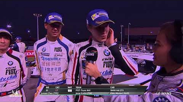 6 Hours of Buriram winners - GT3