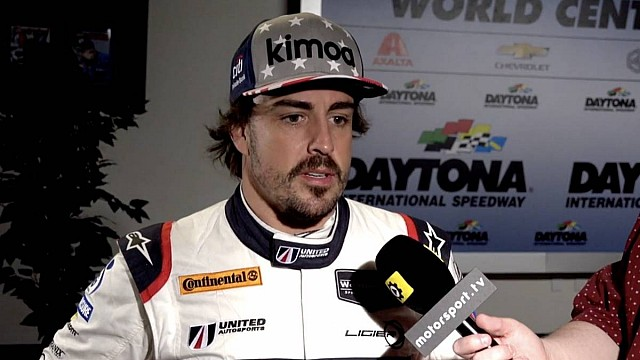 Can Fernando Alonso win the Daytona 24 hours?