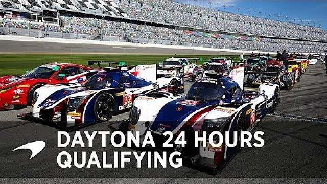 2018 Daytona 24 Hours: Qualifying