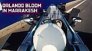 Orlando Bloom crashes Formula E Car In Marrakesh!
