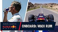 A bordo con David Coulthard en Jordania