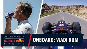 A bordo con David Coulthard en Jordania