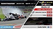 F1 2017 GP1 Türkiye Şampiyonası #9 Belçika GP - CANLI YAYIN