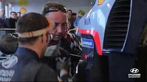 Rally Monte Carlo lo mejor de: Servicio - Hyundai Motorsport 2018