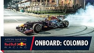 Caméra embarquée avec Daniel Ricciardo à Colombo