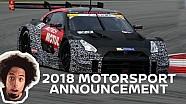 Formula E, Super GT line ups & newly evolved GT-R NISMO GT3!