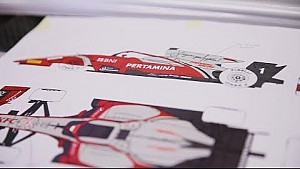 The making of our new FIA F2  car livery