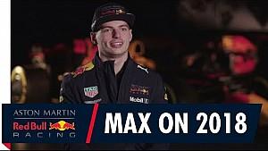 Max Verstappen blikt vooruit naar het F1-seizoen 2018