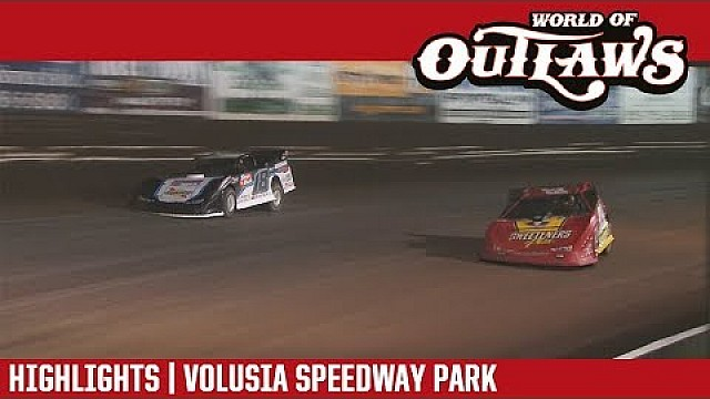 World of Outlaws Craftsman late models Volusia speedway park February 14th, 2018 | Highlights