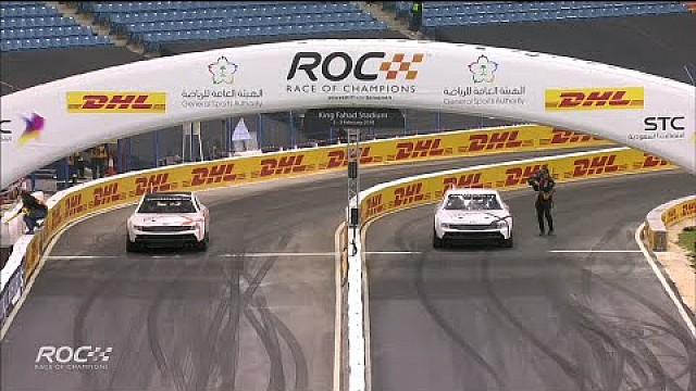 ROC Riyadh - Coulthard knocks out Kristensen