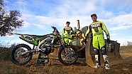 Season start  behind scenes - 2018 KRT MX