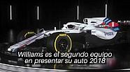 Presentación del Williams FW41 2018
