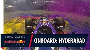 Caméra embarquée avec David Coulthard à Hyderabad