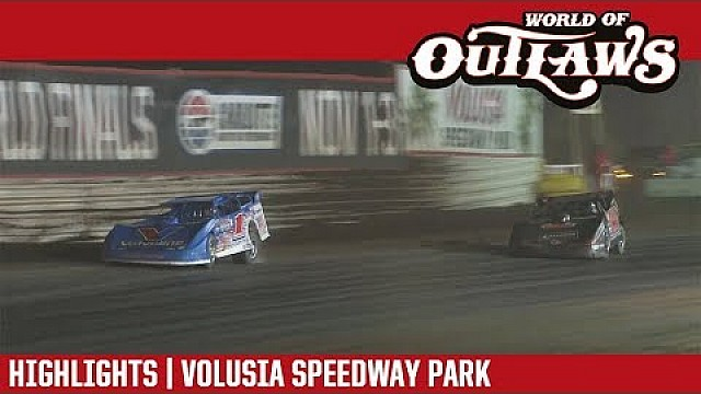 World of Outlaws Craftsman late models Volusia speedway park February 17th, 2018 | Highlights