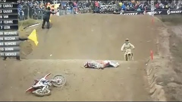 L'incidente di Tim Gajser
