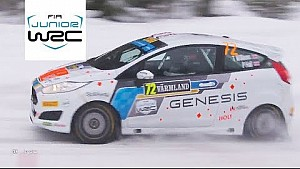 FIA Junior WRC - rally Sweden 2018: JWRC event highlights