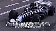 Pinturas incomuns nos testes da Fórmula 1