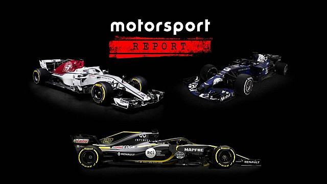 Formula 1 Red Bull, Sauber & Renault F1 launches