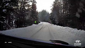 Rally Sweden best of: On-board with Thierry - Hyundai Motorsport 2018